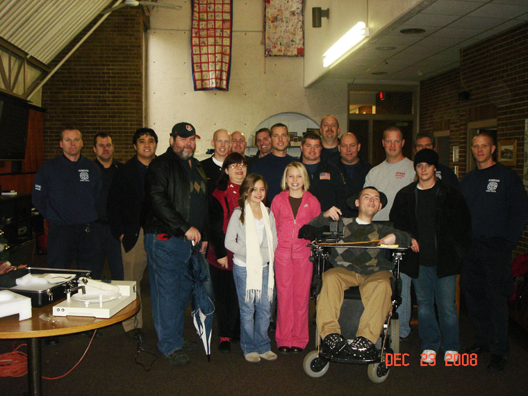 norwood firefighters association self-feeder charity
